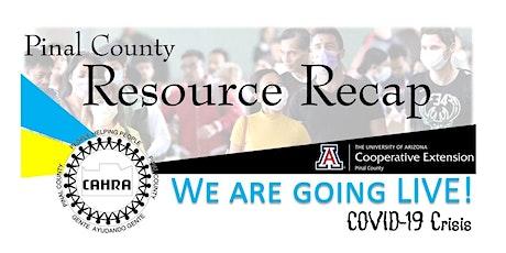 Resource Recap tickets