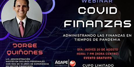 COVID FINANZAS-Administrando las finanzas en tiempos de pandemia entradas