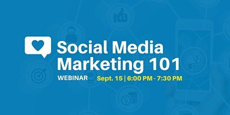 Social Media Marketing 101 - Webinar tickets