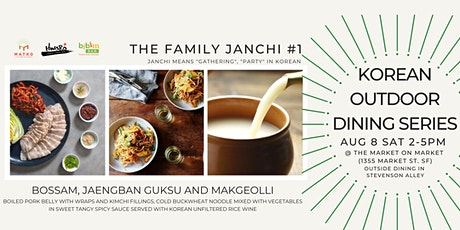 The Family Janchi #1(Korean Food Series: Bossam & Makgeoli) 1 ticket for 2 tickets