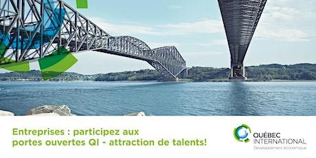 Entreprises : participez aux portes ouvertes QI - attraction de talents! billets