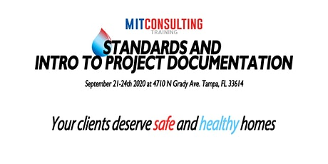Standards and Intro to Project Documentation tickets
