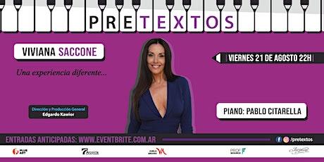 Pretextos con Viviana Saccone y Pablo Citarella tickets