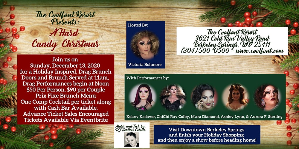 A Hard Candy Christmas: A Holiday Themed Drag Brunch Tickets, Sun