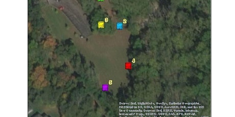 Pathfinding with a map and compass tickets