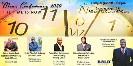 The Time is Now Men's Conference tickets