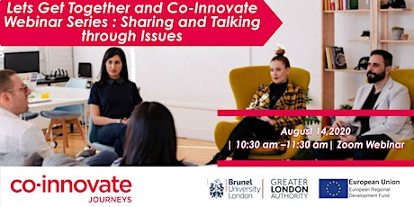 Let's Get Together and Co-Innovate: - Webinar tickets