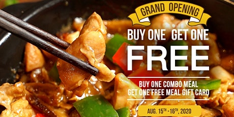 Buy One Get One Free & Win Big Prizes! Grand Opening Celebration tickets