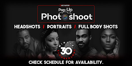 Pop Up Photoshoot (Professional Headshots) by Raise Nation tickets