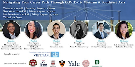 Navigating Your Career Path Through COVID-19: Vietnam & Southeast Asia tickets