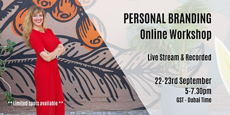 PERSONAL BRANDING: learn to supercharge and accelerate your online presence tickets