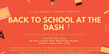 Back To School At the DASH! tickets