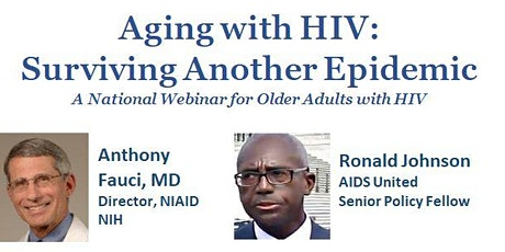 Aging with HIV: Surviving Another Epidemic - 9/17/20 tickets