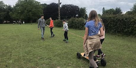 Dagkamp Horseboarden, valtraining en buitenspelen tickets