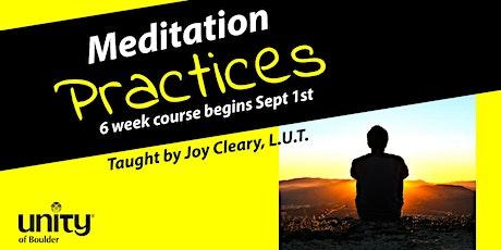 Meditation Practices ~ SPD 105 tickets