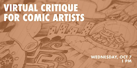 Virtual Critique for Comic Artists tickets