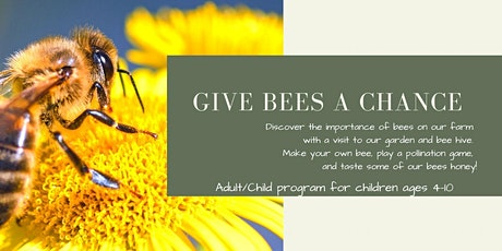 Give Bees A Chance tickets