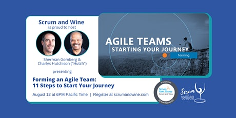 Scrum and Wine: 11 Steps to Form an Agile Team tickets