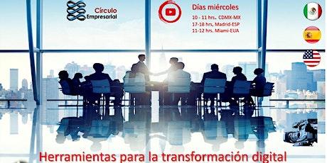 Programa en VIVO CEempresarial Herramientas para el marketing digital entradas
