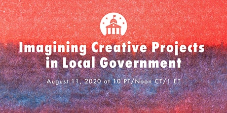 Imagining Creative Projects in Local Government tickets