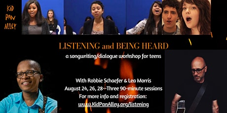 Listening and Being Heard - songwriting/dialogue workshop for teens tickets