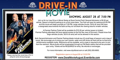 Drive-In Movie: Fast & Furious Presents: Hobbs & Shaw tickets
