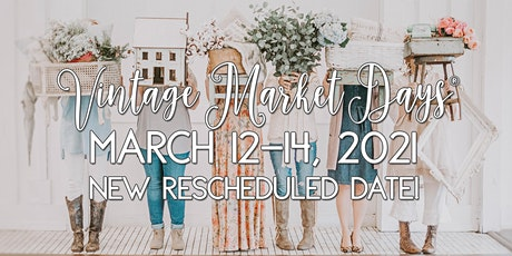 "Vintage Market Days® of SE Louisiana presents ""Glitter and Lace"" tickets"