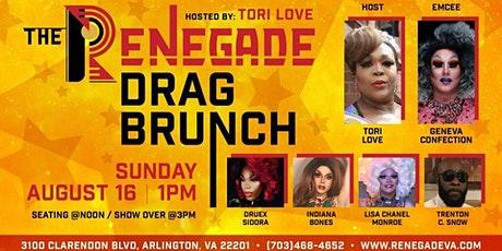 The Renegade Drag Brunch Hosted by Tori Love tickets