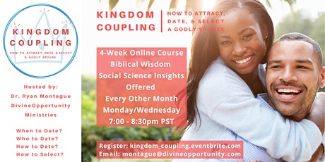 Kingdom Coupling: How to Attract, Date, and Select a Godly Spouse tickets