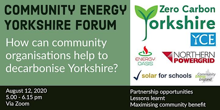 Zero Carbon Yorkshire Community Energy Event image
