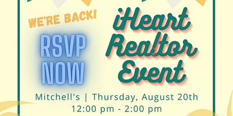 August iHeart Realtor Event! tickets