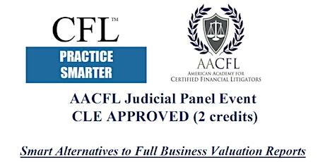 AACFL Judicial Panel Event  tickets