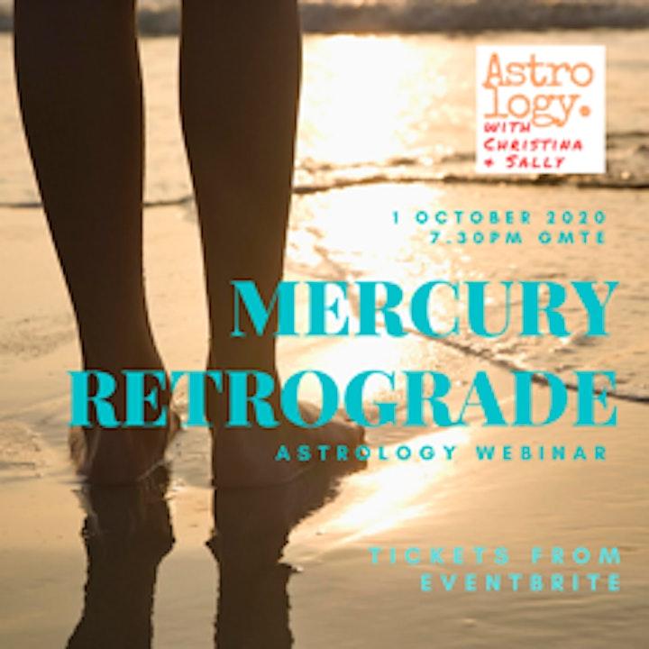 Mercury Retrograde - Astrology Webinar image