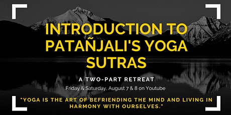Introduction to the Patañjali Yoga Sutras tickets