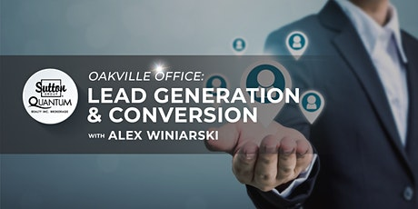 Lead Generation & Conversion  with Alex Winiarski tickets