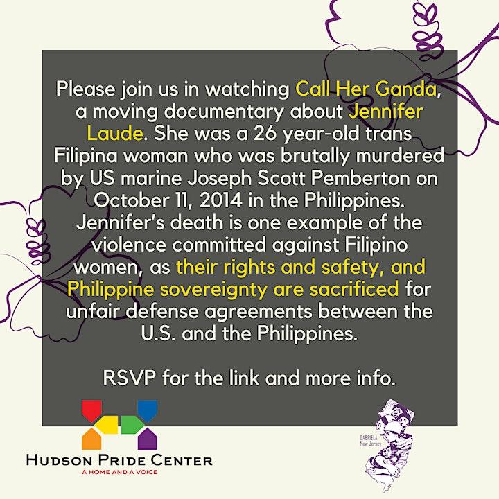 Virtual Film Screening: Call Her Ganda image