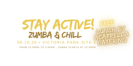 Free Outdoor Zumba and Lunch tickets