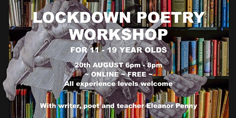 Lockdown Poetry Workshop for Young People tickets
