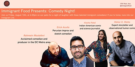 DC Comedy Night: Immigrant Stories tickets