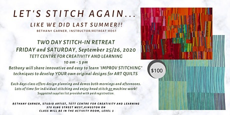 LET'S STITCH AGAIN - Like We Did Last Summer tickets