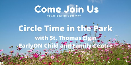 EarlyON Circle Time at the Park - Cowan Park St. Thomas tickets