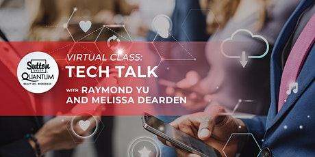 Tech Talk with Raymond Yu and Melissa Dearden tickets