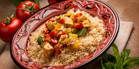Casablanca night - Couscous hands on cooking class with dinner on site tickets