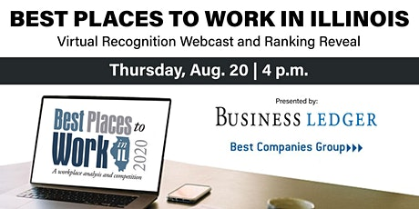 Best Places to Work in Illinois LIVE Ranking Countdown Webcast tickets
