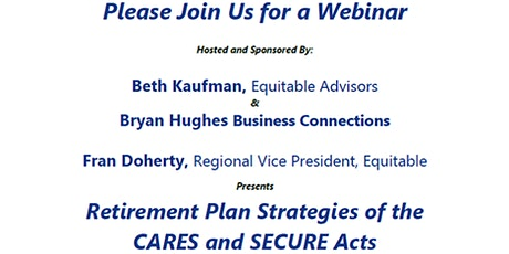 Retirement Plan Strategies of the CARES and SECURE Acts biglietti