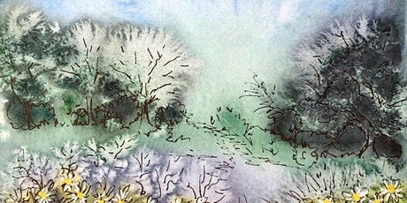Plein Air Watercolor Sketching in my garden- Friday Sept 4, 8-10:30am tickets