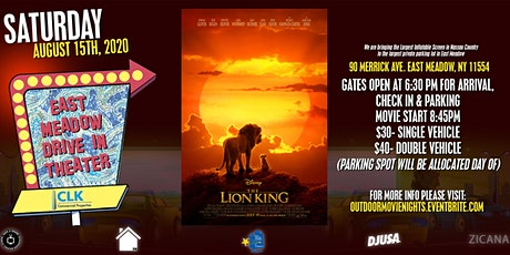 East Meadow Drive-In Theater featuring THE LION KING (new) tickets