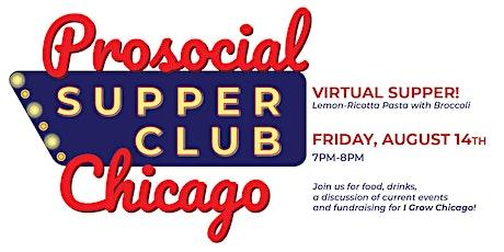 Prosocial Supper Club: August tickets