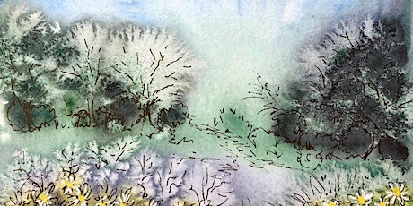 Plein Air Watercolor Sketching in my garden- Friday Sept 11, 8-10:30am tickets