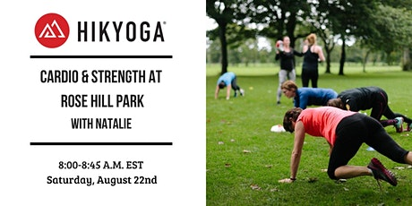 Outdoor Cardio & Strength with Hikyoga® DC tickets